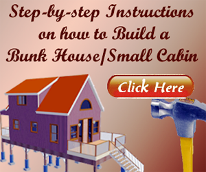 Bunk House and Small Cabin Plans Review
