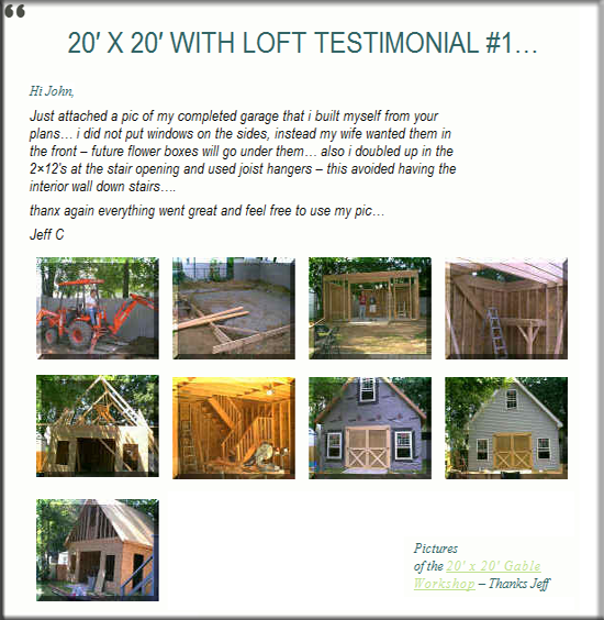 Testimonial 12 House Cabin Special Offer