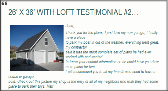Testimonial 22 House Cabin Special Offer
