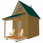 Bunkhouse Cabin Articles | Small Cabin and Bunk House Plans