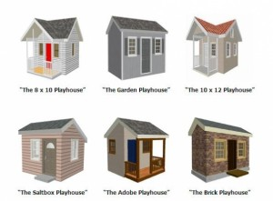 building plans two story playhouse